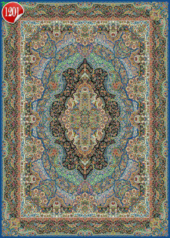 فرش 1000 شانه تراکم 3000 کاشان مدل 1201 این طرح 10 رنگ و 5 سال ضمانت کیفیت دارد