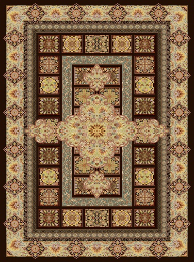 فرش تمام ابریشم مسرور