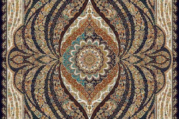 فرش کاشان طرح جدید