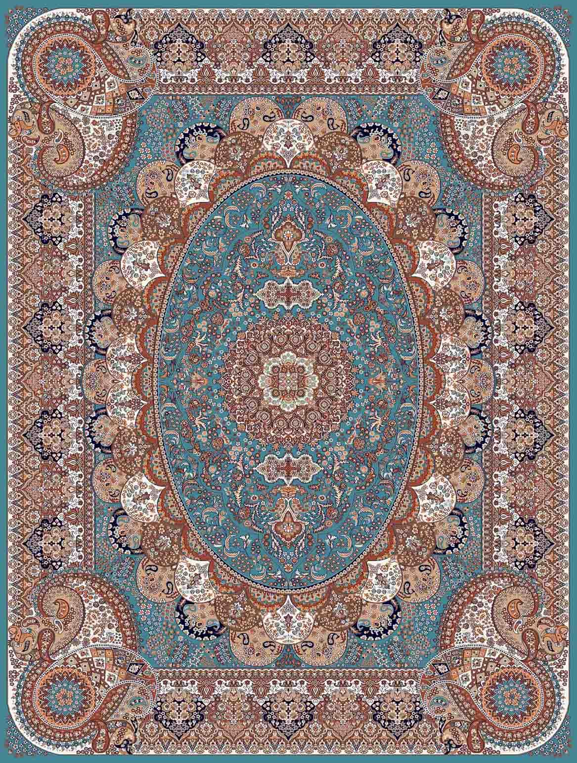 Image result for فرش فیروزه ای ارزان