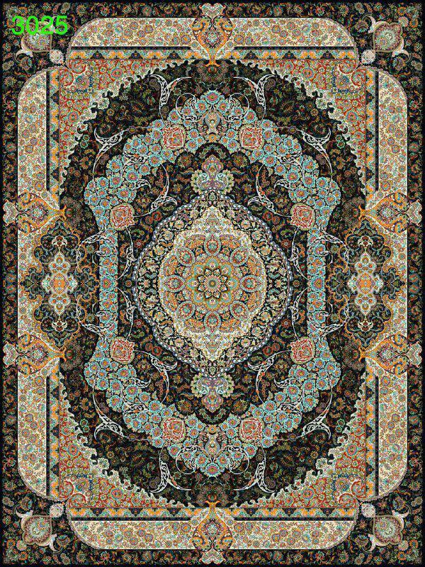 فرش 1000 شانه تراکم 3000 کاشان مدل 3025 این طرح 10 رنگ و 5 سال ضمانت کیفیت دارد