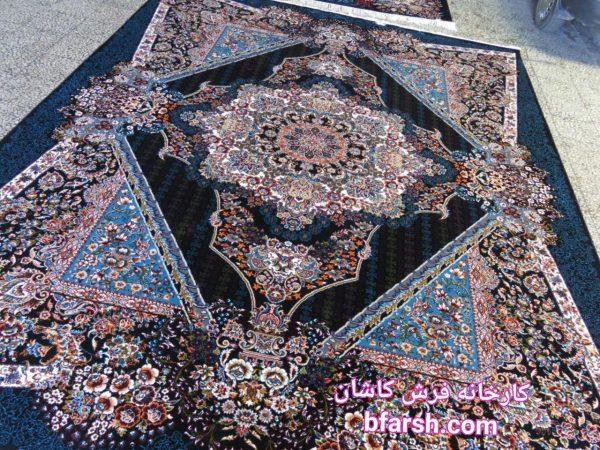 فرش کاشان طرح هلن | تاریخ فرش و فرشبافی