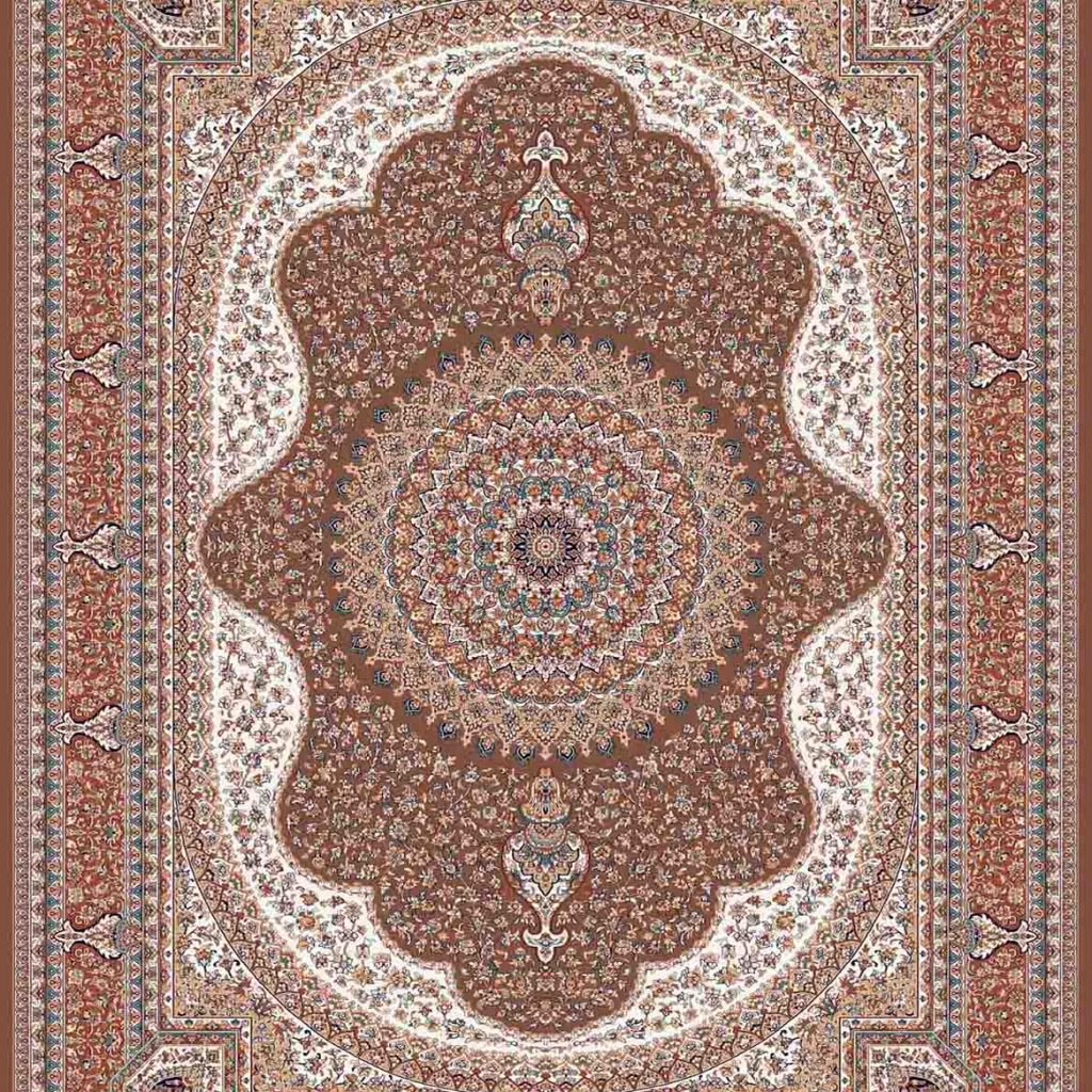 فرش کاشان ستاره گردویی