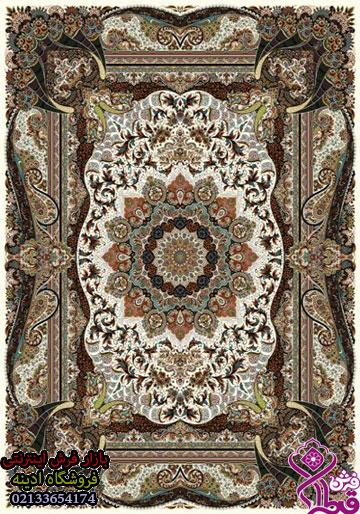 فرش کاشان – ۵۰۰ شانه – طرح فاخر