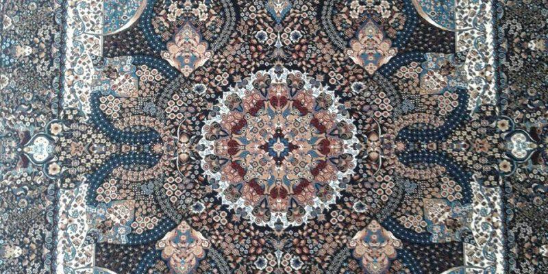 طرح جشنواره از تولیدی فرش کاشان