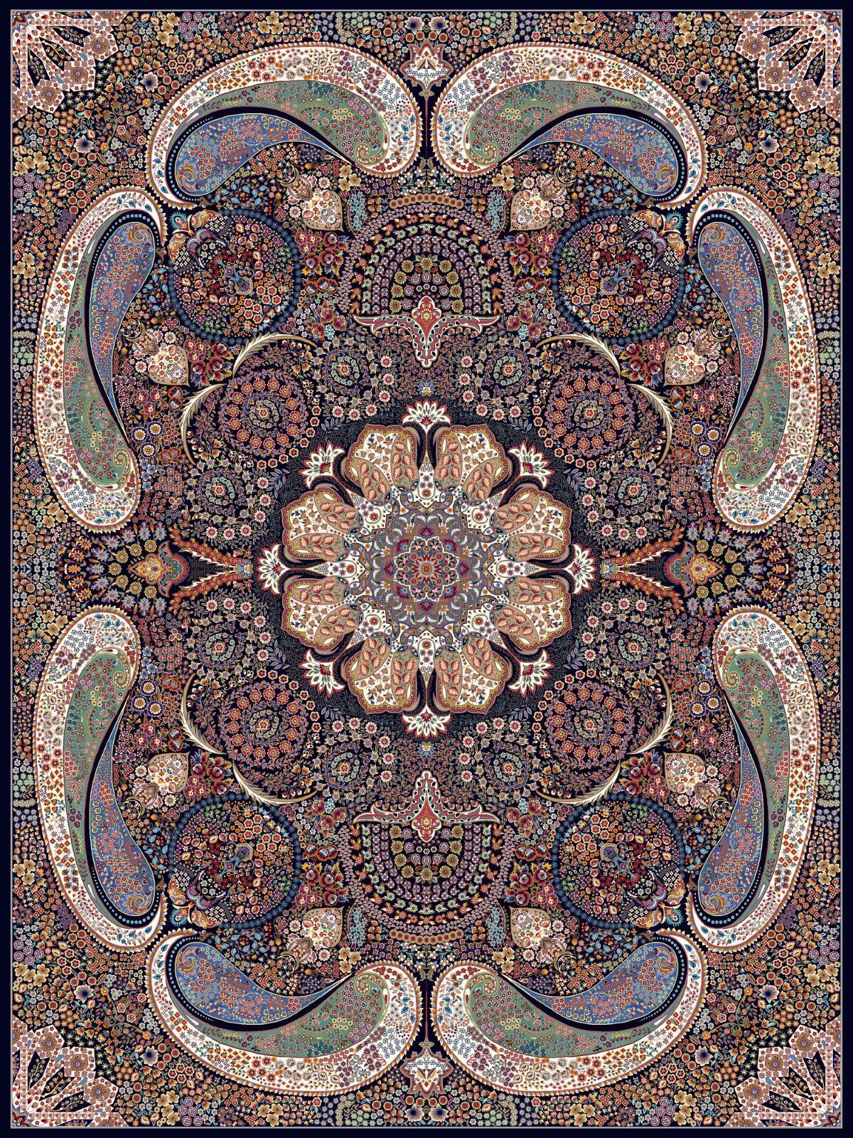Carpet Kashan Melodi Design