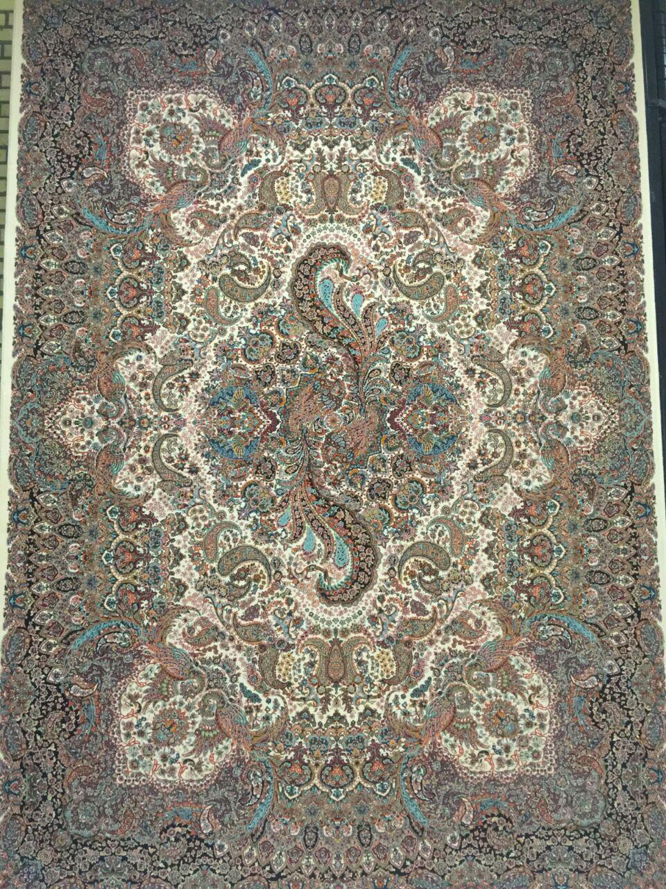 Kashan Carpet Simorgh Design