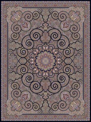 فرش ۱۰۰۰ شانه طرح ونوس