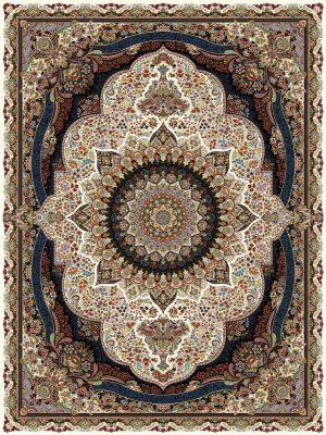 فرش ۱۰۰۰ شانه طرح پرهام کرم