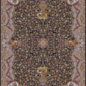 فرش ۱۰۰۰ شانه طرح شکارگاه