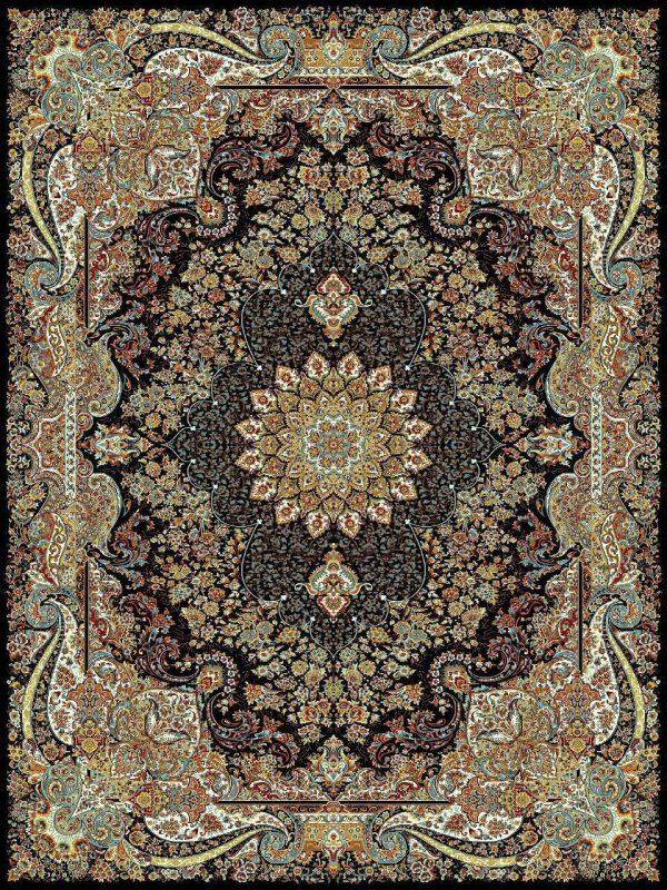 فرش کاشان طرح چیچیک