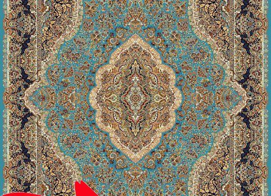 طرحهای فرش ایران – طرح فرش با نقشمایه طبیعت سبز