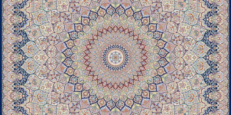 فرش ۱۲۰۰  شانه ده رنگ