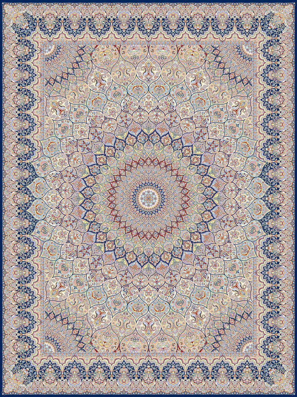 فرش ۱۲۰۰ شانه ۱۰ رنگ