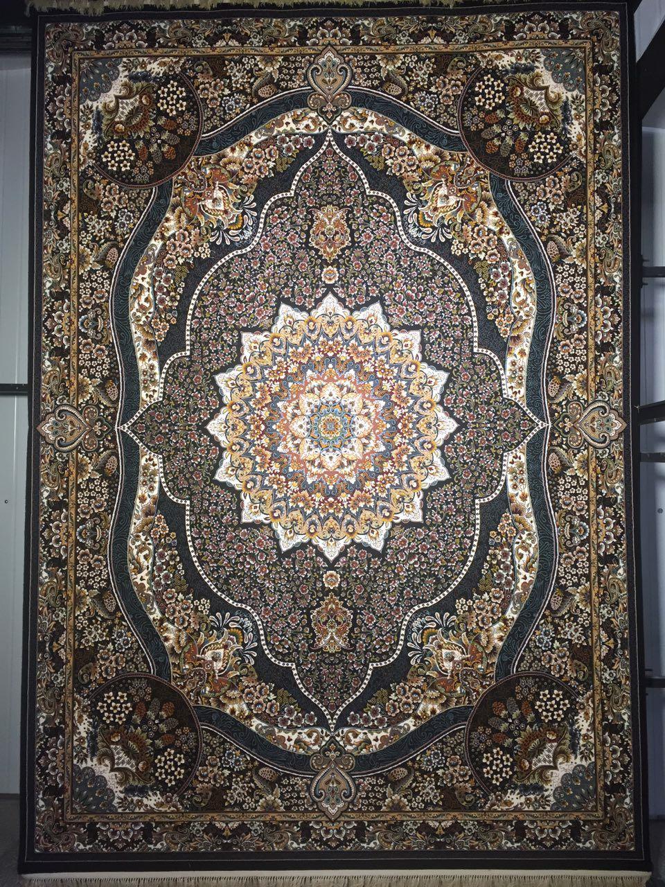 فرش کاشان طرح رضوان در 3 رنگ
