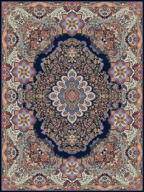 Color Scheme Carpet Kashan