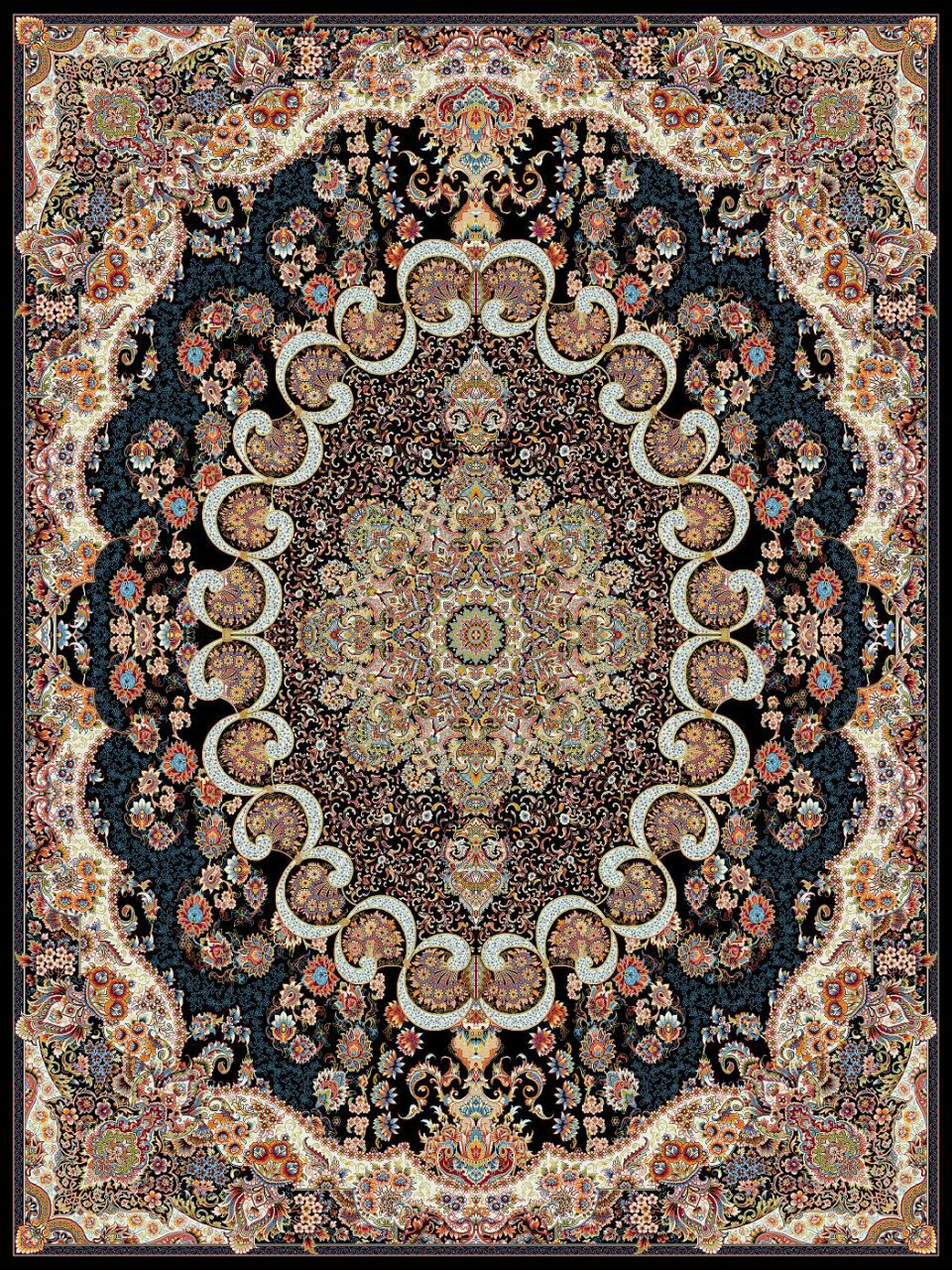 Design Mitre Kashan Carpet