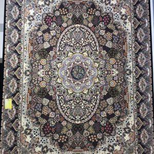 فرش کاشان – ۱۲۰۰ شانه – طرح روناک