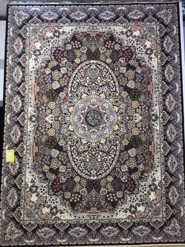 فرش کاشان - 1200 شانه - طرح روناک