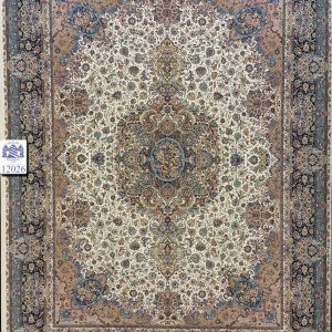 فرش کاشان – ۱۲۰۰ شانه – طرح سالاری