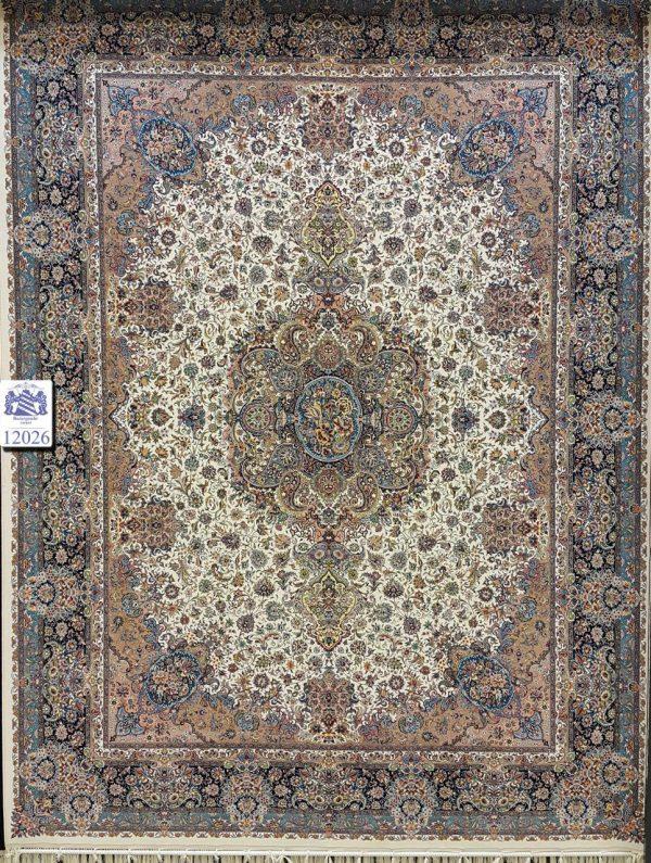 فرش کاشان - 1200 شانه - طرح سالاری