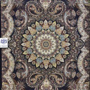 فرش کاشان – ۱۲۰۰ شانه – طرح اهورا