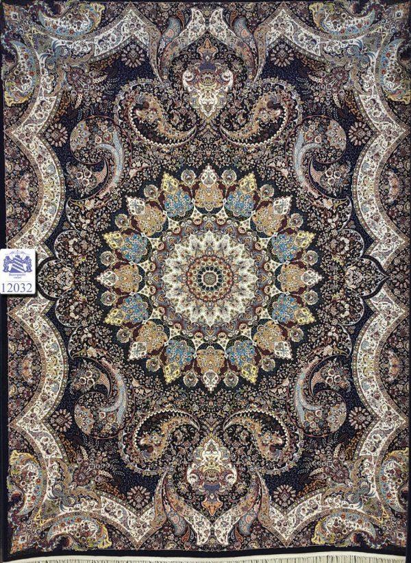 فرش کاشان - ۱۲۰۰ شانه - طرح اهورا