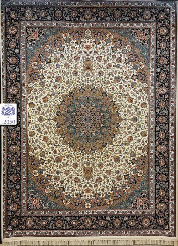 فرش کاشان - ۱۲۰۰ شانه - طرح نایین