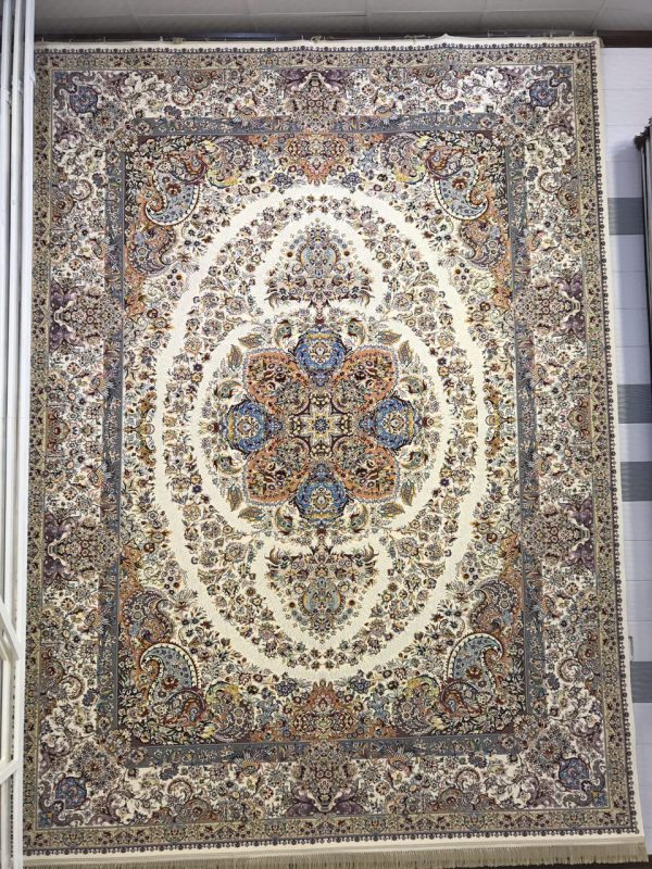 فرش کاشان - ۱۲۰۰ شانه - طرح نادیا