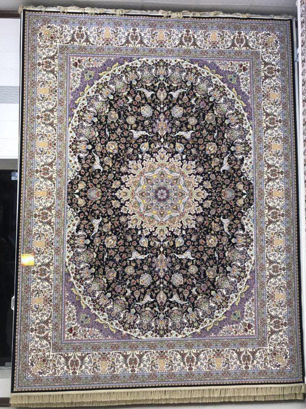 فرش کاشان - ۱۲۰۰ شانه - طرح صاحبقران