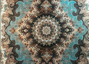 طرحهای فرش ایران - طرح فرش با نقشمایه طبیعت سبز