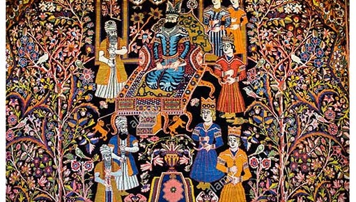 طرح فرش ایران تلفیقی- اقتباسی