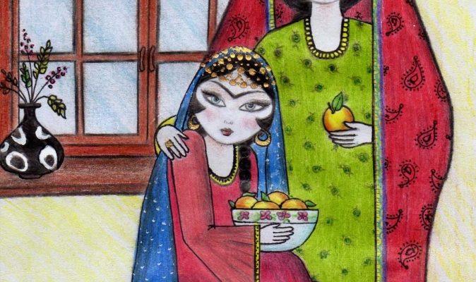 طرحهای فرش ایران- طرحهای دارای صورت