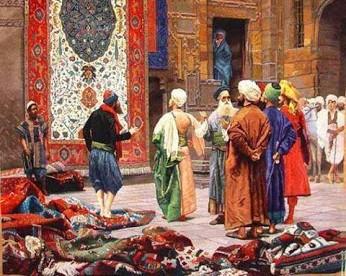قالی در طول تاریخ ایران