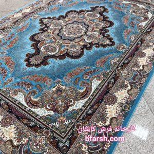 فرش کاشان – ۱۲۰۰ شانه – طرح ستاره