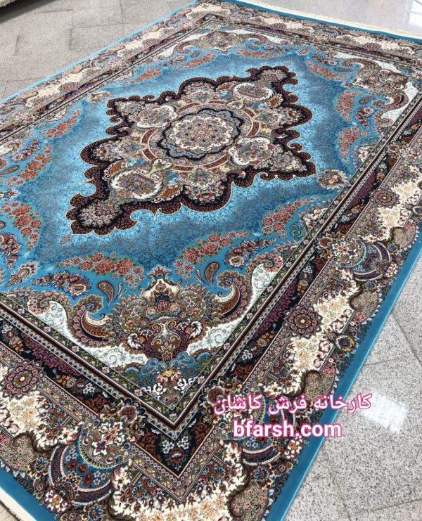 فرش کاشان - ۱۲۰۰ شانه - طرح ستاره