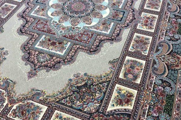 تقسیم بندی کلی فرش ایران از لحاظ خطوط نقشمایهای