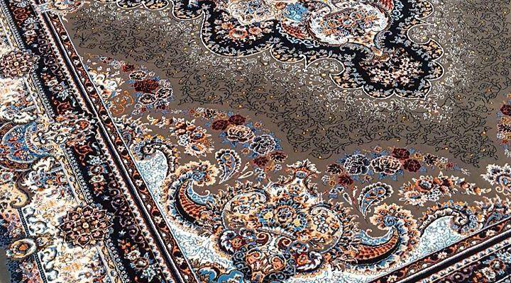 فرش کاشان نقشه ستاره گردویی