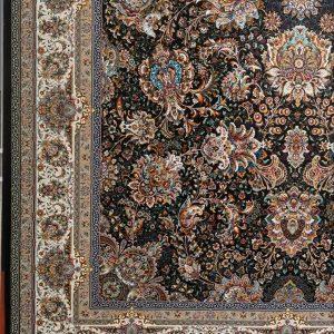 فرش یاشار سرمه ای ۱۰۰۰شانه