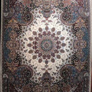 فرش کاشان – ۵۰۰ شانه – طرح آتوسا گردویی