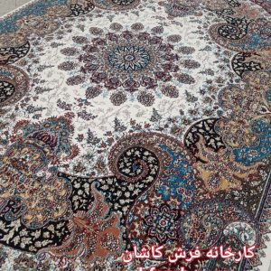 Carpet Kashan Ottosha Puddings Five Hundred Shoulders اتوسا گردویی