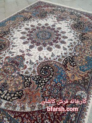 Carpet Kashan Ottosha Puddings Five Hundred Shoulders اتوسا گردویی