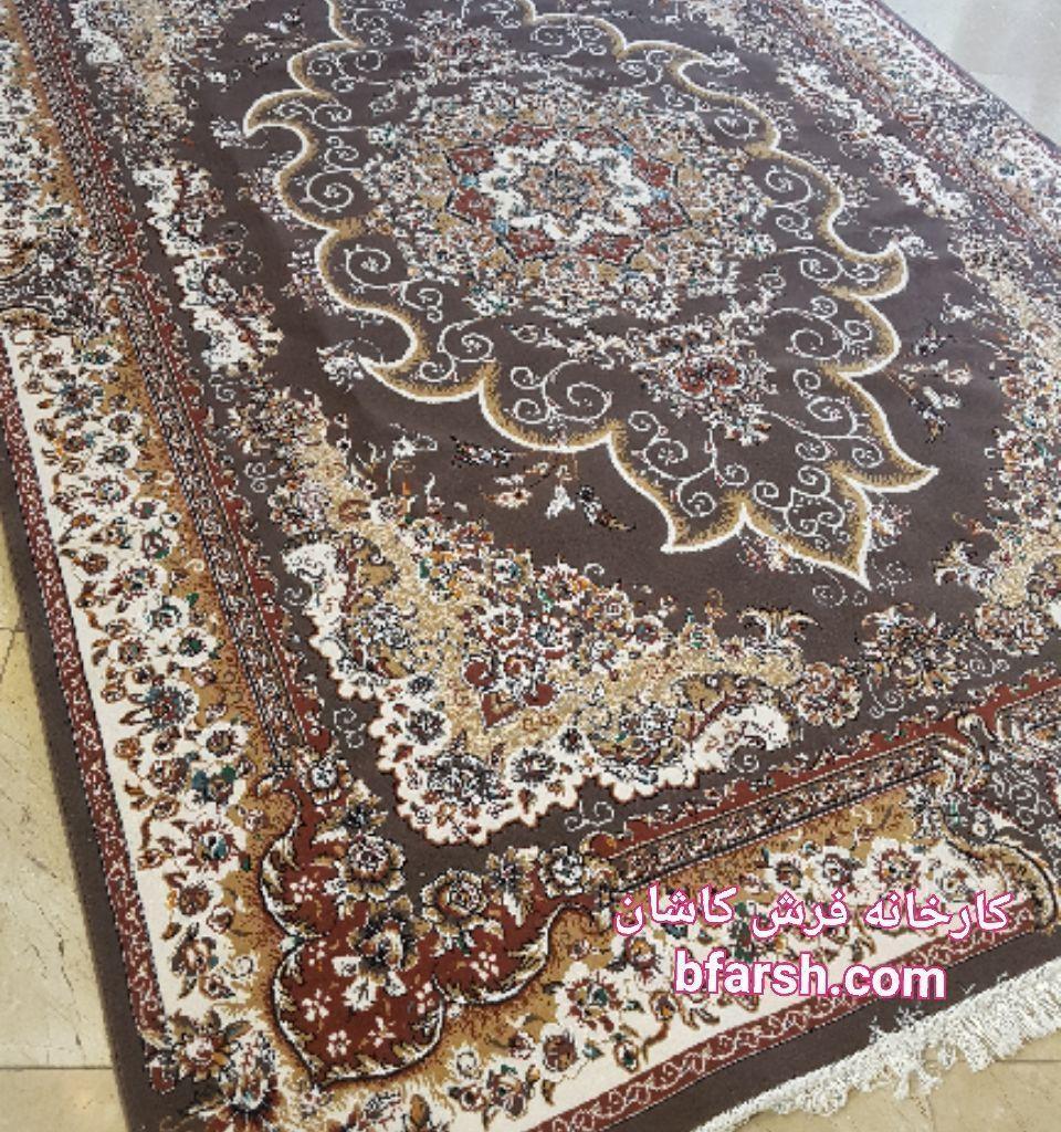 فرش کاشان - 500 شانه - طرح مروارید