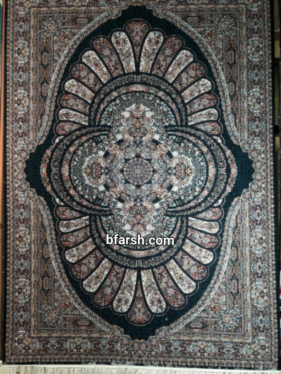 فرش کاشان – 500 شانه – طرح رویال 8 رنگ