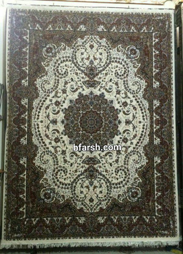 carpet-kashan-khatereh-cream-color-five-hundred-shoulders-خاطره-کرم