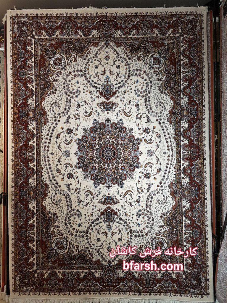 فرش کاشان - 500 شانه - طرح خاطره