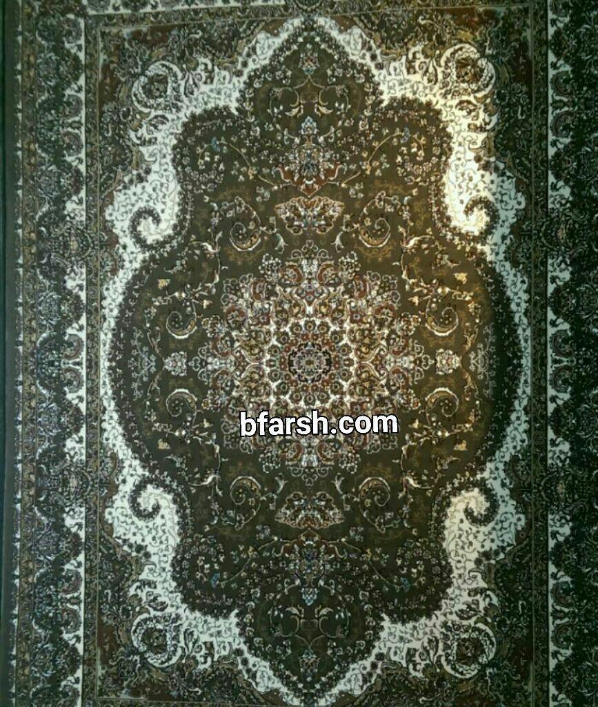 فرش کاشان - 500 شانه - طرح خاطره گردویی