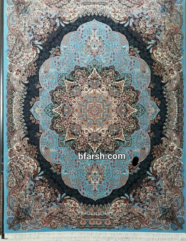 فرش کاشان - 500 شانه - طرح نارسیس