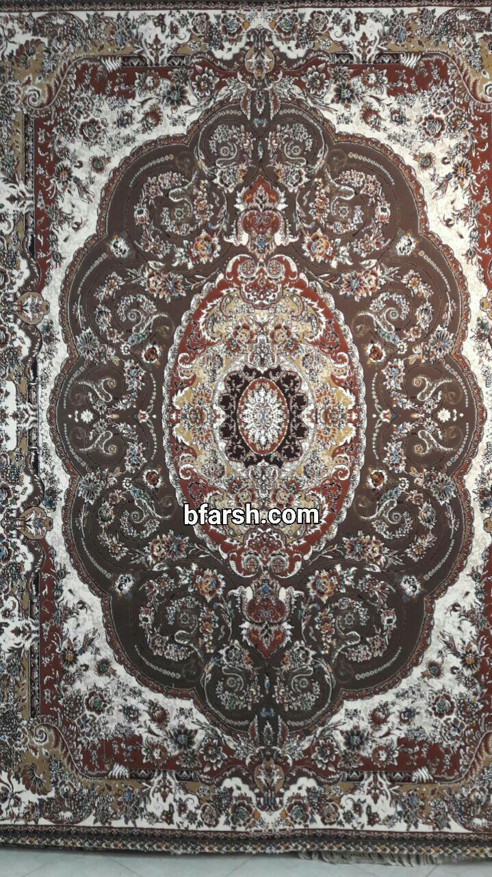 فرش کاشان - 500 شانه - طرح پگاه