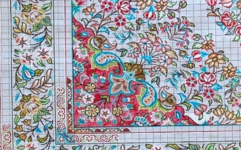 آشنايي و شناخت رنگها در نقشه فرش